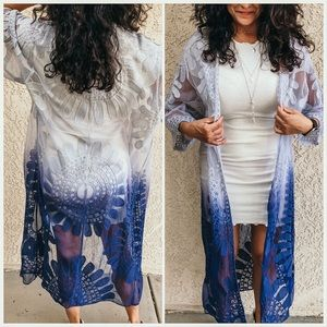 Other - The ombré Periwinkle cloak